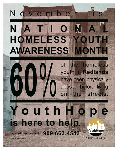 National Homeless Youth Awareness Month Print 4