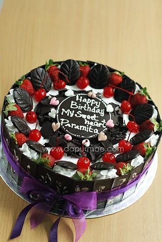 Blackforest Cake 24cm - Reza