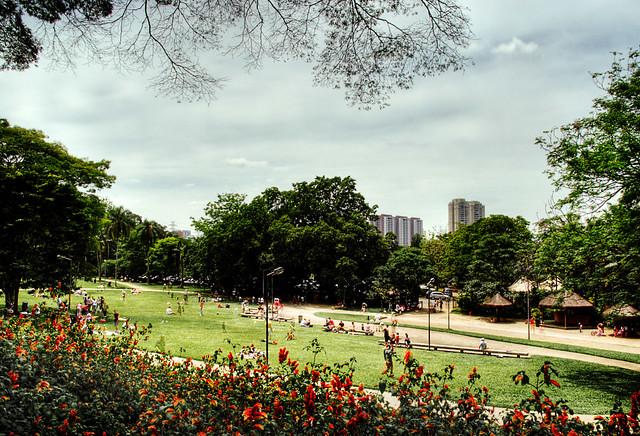 Feriado no Parque