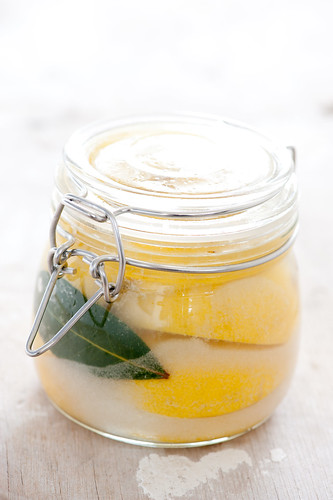 preserved lemons in a jar