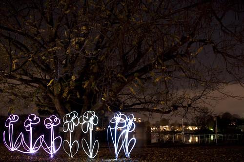 Lightpainting Tests