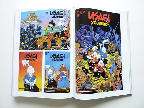 Usagi Yojimbo: The Special Edition by Stan Sakai - cover gallery pages