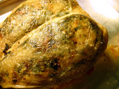 roasted chicken breast with zhough