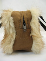 tanmammal40001 (Flamestitch) Tags: fur mammal furry nipple sewing purse handbag teat handmadepurse fauxfur