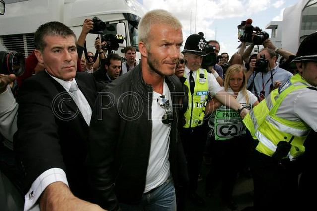 David beckham at Formula 1 by David Beckham by THE QUEER OF ALL MEDIA BLOG