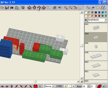 LEGO virtual
