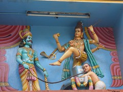 Tableau in Bangalore temple