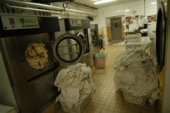 Una lavanderia