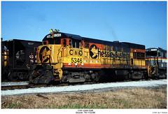 CSX U30B 5346 (Robert W. Thomson) Tags: railroad train diesel tennessee railway trains co locomotive uboat trainengine ge chessie csx etowah chessiesystem fouraxle u30b cheasapeakeohio