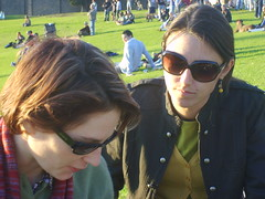 Kathy and Shady (mithracox) Tags: game jets newtown
