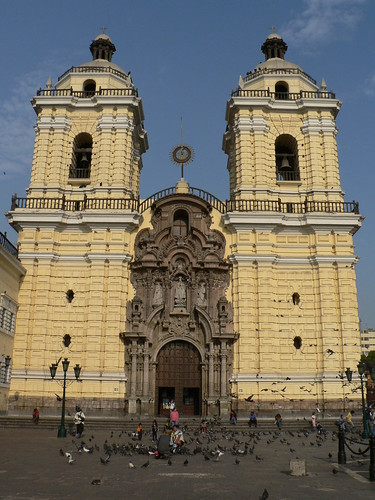San Francisco Church, Lima por James Preston.