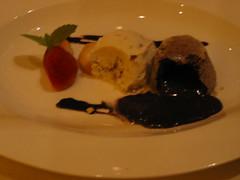 Molten Chocolate cake 2