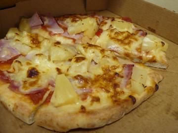 An Hawaiian Pizza