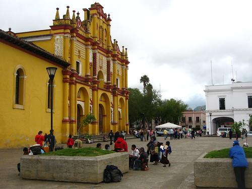 Viaje nocturno en Chiapas, México