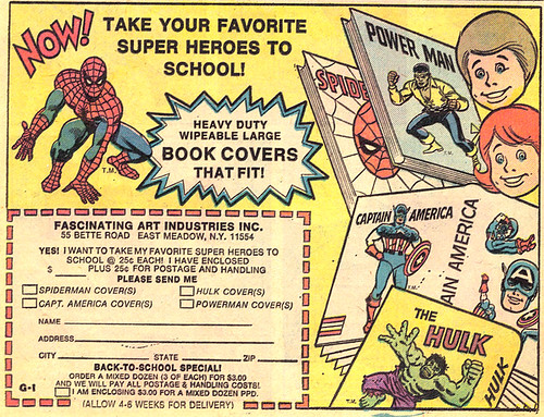 Vintage Ad #345: Super Book Covers