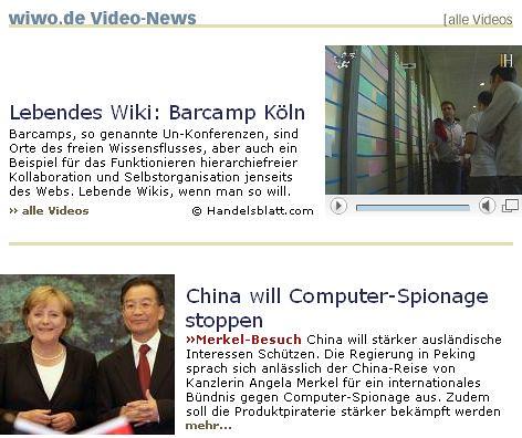 BarCamp Köln vor Angela Merkel
