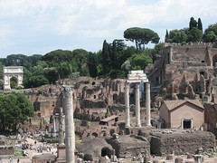Rome, Temple of Castor and Pollux (Buster&Bubby) Tags: italy rome forum unescoworldheritagesite unesco 2007 1000placestoseebeforeyoudie templeofcastorandpollux