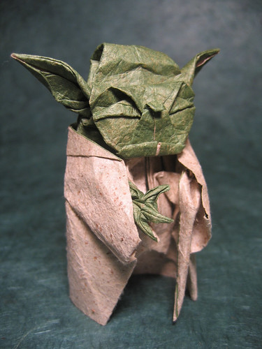 yoda origami
