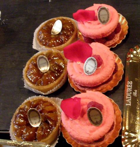 Cakes at Ladurée