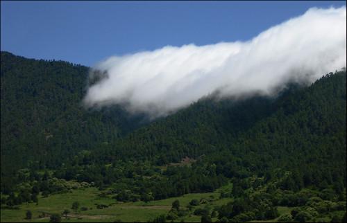 Nubes en Taburiente