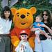 Kathy Michael Jessica Kim and Pooh Bear