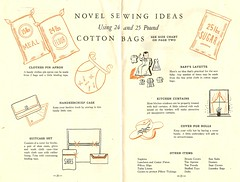 Sewing with cotton bags
