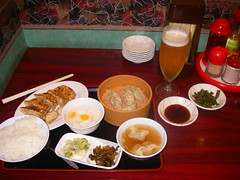 Utsunomiya: gyōza meal