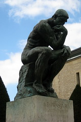 Paris - Muse Rodin: The Thinker (wallyg) Tags: sculpture paris france statue museum garden europe muserodin sculpturegarden rodin jardins thethinker hotelbiron penseur rodinmuseum museerodin augusterodin lepenseur thepoet htelbiron