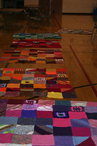 Completed Afghans for Greensburg