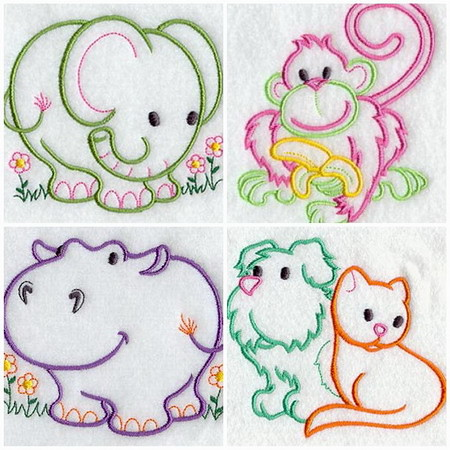 MACHINE EMBROIDERY LICENSED DESIGN