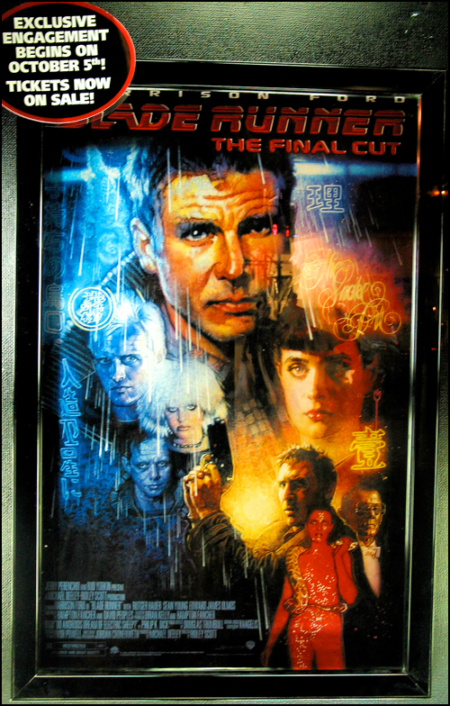Blade Runner: Final Cut Poster at Ziegfeld Theater
