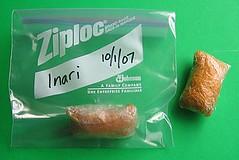 How to freeze inari zushi