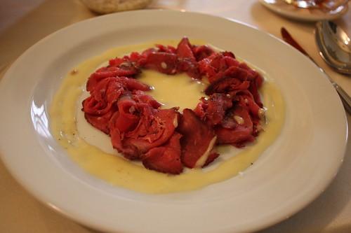 Roastbeef s krenovou omackou