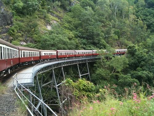 Nice bridge #QRTrip2010 #KurandaRail