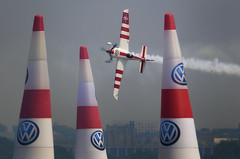 Red Bull Air Race - June 2010 - Hudson River / Upper NY Bay (frank maiello) Tags: city race river airplane air nj jersey hudson statueofliberty ellisisland redbullairrace