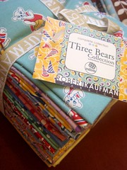 Fat Quarter Bundle - 3 little bears