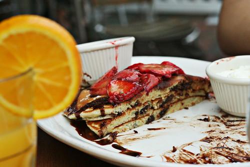 pancake innards!