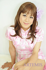 Ann Hama (Artemis Japan crossdressing service Tokyo Yokohama) Tags: travel pink wedding art up japan photography photo pin dress cosplay sweet cd makeup crossdressing tgirl lolita transvestite kimono makeover maid crossdresser pinup ts outing 制服 gyaru nikkon house  ロリータ gosic femalevoice transvistites