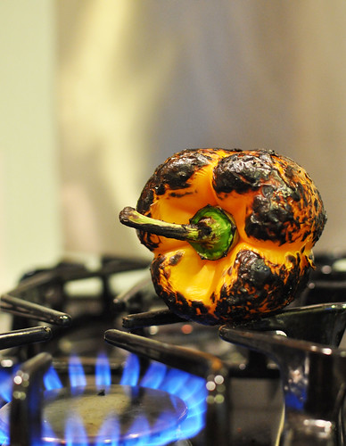 Roasting Peppers 3