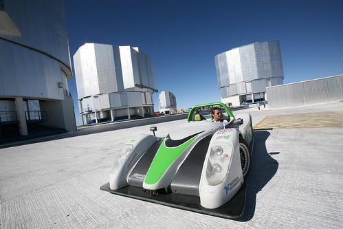 eso electriccar vlt paranal racinggreenendurance