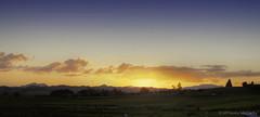 Sunset at Dawn (M Francis McCarthy) Tags: sunset newzealand landscape settingsun mfrancismccarthy