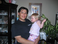 Liele and Uncle Ralphie. (5/6/07)