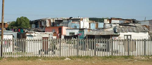 Township near Cape Town