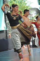 Indian dance (Calinago) Tags: summer woman man berlin germany dance stage offshore indian streetparty 48stundenneuklln