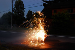 Fountain of sparks (ArtBrom) Tags: nikon day fireworks 4th july d200 independence
