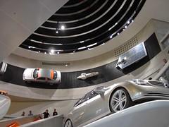 Mercedes Benz Museum 2007 (The_Earlgrey) Tags: museum mercedes mercedesbenzmuseum