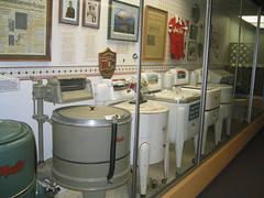 Maytag Washer Display - Jasper County Historical Society