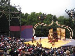 The stage @ Calshakes in Orinda