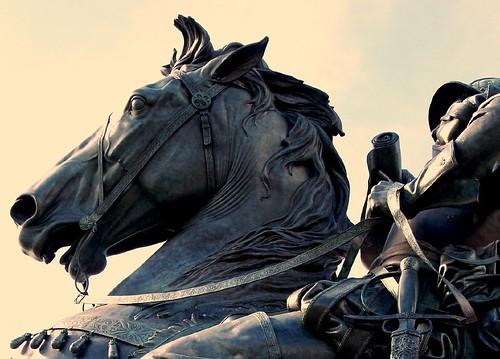 Equestrian detail