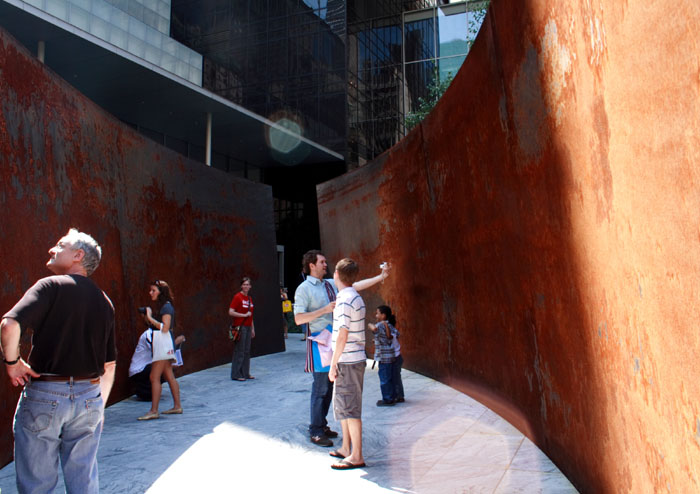 Richard Serra, Not Defaced